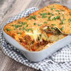 Italiaanse gehaktschotel - Mariëlle in de Keuken Diner Recipes, Dutch Recipes, Italian Recipes, Great Recipes, Cooking Recipes, Healthy Recipes, Tapas, I Love Food, Good Food