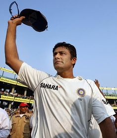 India's greatest match-winner was born on this day (October 17) in 1970. For one, Anil Kumble is one of the only two bowlers to take all 10 wickets in a Test innings.You can read more about his many great deeds for India by clicking on the picture. Take your time and enjoy.