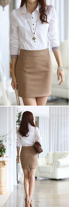 #Faldas para la #oficina. Encuéntrala aquí.