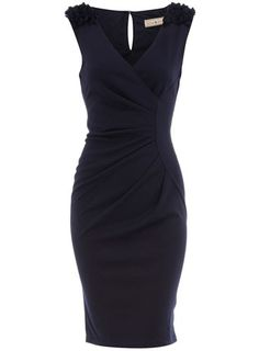 Navy dress..I could rock this dress!! my-style-inspiration