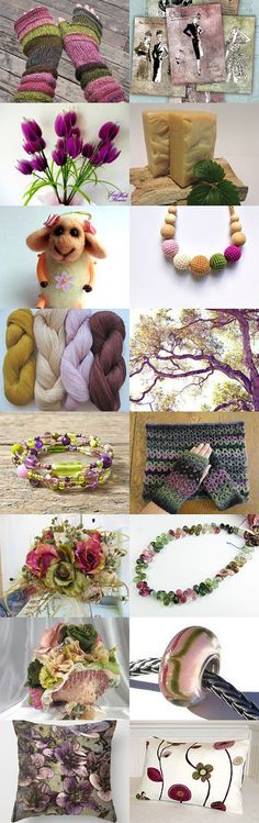 Watermelon Tourmaline ~ Spring 2015 Trends by Kathy Carroll on Etsy--Pinned with TreasuryPin.com
