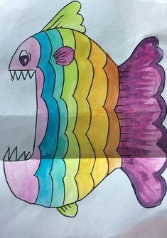 Gapande fisk