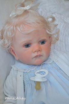 S.O.L.E Reborn Toddler FRIDA sculpted by Karola Wegerich OOAK Baby Girl Doll in Dolls & Bears, Dolls, Reborn | eBay