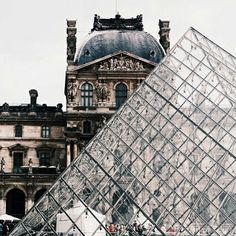 louvre, paris, and travel image