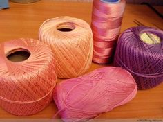 The yarn used for the previous IRISH crochet pin! Carol Ann, Irish Crochet, Bean Bag Chair, Ballet Shoes, Candle Holders, Candles, Art, Ballet Flats, Art Background