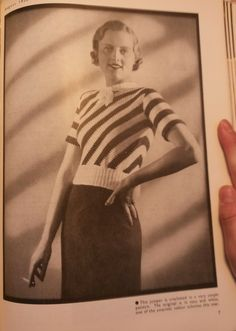 Free vintage crochet pattern 1932 from Stitchcraft magazine
