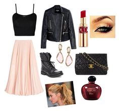 A fashion look from August 2015 featuring mesh top, Balmain and pink skirt. Browse and shop related looks. Balmain, Christian Dior, Steve Madden, Yves Saint Laurent, Champion, High Heels, Fashion Looks, Chanel, Polyvore