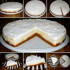 Photos and Videos Cheesecakes, Food Videos, Tiramisu, Food And Drink, Pie, Sweets, Meals, Ethnic Recipes, Desserts