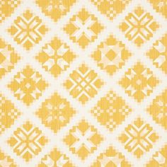Schumacher With all the charm of a traditional quilt, Tristan Patchwork is a jacquard weave with wonderful character and dimension. Since 1889, we've been setting the bar with our exceptional products. A passion for beauty, respect for classicism and eye for the cutting edge are woven into everything we do. Color: Yellow