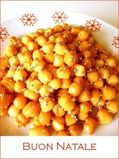 Struffoli with Millefiori Honey #pinspiration