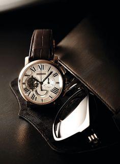Rotonde de Cartier Tourbillon Chronograph