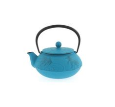 Iwachu 20 oz. Turquoise Gold Fish Tea Pot — Seito | New York