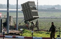 """At least two rockets from Syria hit the Israeli-occupied Golan Heights Tuesday and Israel returned fire, the military said, nine days after an Israeli airstrike in Syria killed an Iranian general and several Hezbollah fighters.  An Israeli military spokesman said the army """"responded with artillery towards the positions that launched the attack"""" and that it ordered the evacuation of Israel's Mt. Hermon ski resort on the Golan Heights after the rockets struck."""