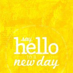 Muy buenos días amigas. ¡Excelente miércoles!
