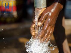 Did you know that each well provides clean water to an average population of 400 people? #W282 #cleanwaterforall