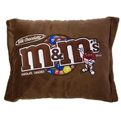 Plush M M Pillow