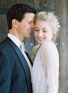 Beautiful wedding inspiration: http://www.stylemepretty.com/2014/12/22/organic-black-tie-bridal-inspiration/ | Photography: Autsin Gros - http://austingros.com/