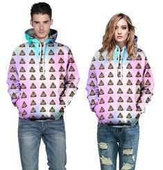 Men's Clothing 2018 Autumn 328 Skull Halloween Joker Dinosaur Prints Women Jacket Hooded Femme Sweatshirt Casual Loose Men Pocket Hoodies Coat Rich And Magnificent