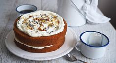 "Victoria, the ""London Fog"" Earl Grey Tea Cake!"