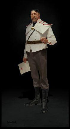 ArtStation - Concept art for Dishonored 2, Sergey Kolesov