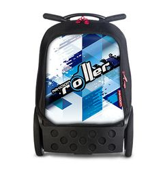 Nikidom Roller - Cool Blue, 2016-os kollekció #okosodjvelunk Mochila Trolley, Tabata, Lunch Box, Backpacks, Cool Stuff, Big Wheel, Back Pain, Modern Design, Wheels