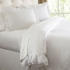 Birch Lane™ Annette Cotton Voile Bedding Collection & Reviews | Wayfair