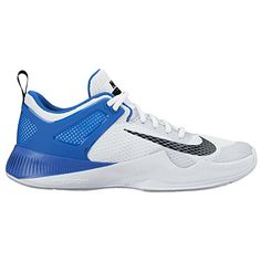 newest e1d67 b0c32 Women s Nike Air Zoom Hyperace Volleyball Shoes White Black Game Royal Size  9 M US -- Continue to the product at the image link.