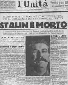giornodopogiorno: 5 marzo 1953, la morte di Stalin