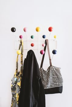 The walnut Eames Hang-It-All is back!