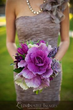 Purple and eggplant jewel tone #wedding #bouquet by Arrangements Floral & Party Designs