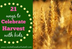 Sun Hats & Wellie Boots: Celebrating Harvest - 21 Activities for Children to Explore