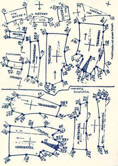 Lutterloh 1938 Book Of Cards - Models Diagram Card 23