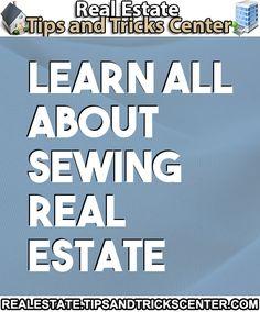 #realestate #sewing