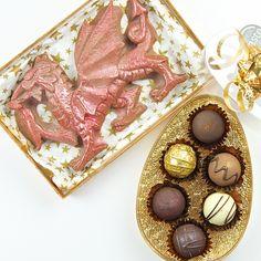 Dragon Egg Chocolate Truffles | Do Something Delicious