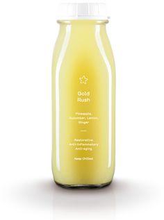 Gold Rush - Pineapple, Cucumber, Lemon, Ginger