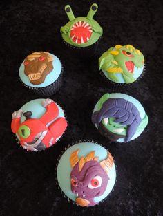 Skylander Cupcakes