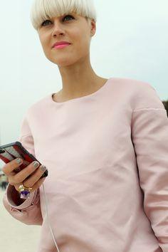 think pink #PFW #streetstyle //Photo by The Style Sandwich for Fashiolista/ www.thestylesandwich.com