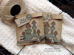Brown Paper Packages- minus the castle & country bow