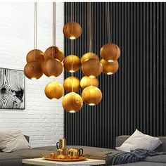Gaia Wooden Pendant Light – KOSYLIG