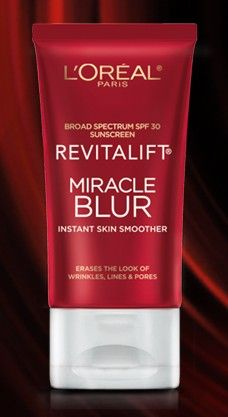 L'oreal Revitalift Miracle Blur (used by Dita von Teese)