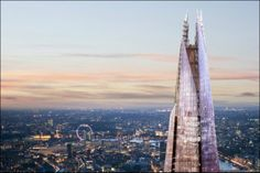 """London's (and western Europe's) tallest building, the SHARD, is a complete """"town"""" inside!"""