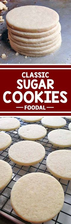 Stay classy with the classic sugar cookie! Use our basic recipe on Foodal to make fun and delicious cutouts for all types of celebrations and holidays all year long, and get the best advice each step of the way. We'll teach you the best techniques for making soft and slightly chewy treats that are a perfect base for any of your decorating needs. Read more now on Foodal!