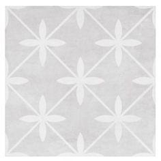 Laura Ashley Dove Grey 33cm x 33cm Floor Tile