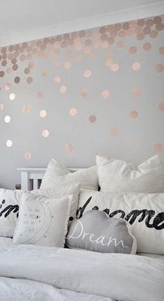 Rose gold bedroom decor rose gold unicorn head mount with silver glitter staff unicorn Girls Bedroom Wallpaper, Kids Bedroom, Preteen Bedroom, Girl Bedrooms, Bedroom Ideas, Woman Bedroom, Bedroom Feature Wallpaper, Bedroom Club, Girl Bedroom Walls