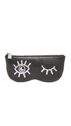 REBECCA MINKOFF Winking Eye Sunnies Pouch. #rebeccaminkoff #pouch