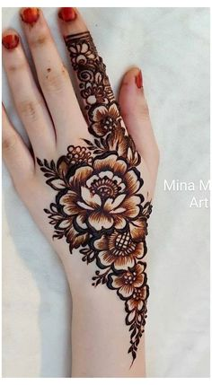 Floral Henna Designs, Henna Tattoo Designs Simple, Latest Bridal Mehndi Designs, Mehndi Designs Book, Modern Mehndi Designs, Mehndi Designs For Beginners, Mehndi Designs For Girls, Mehndi Designs For Fingers, Dulhan Mehndi Designs