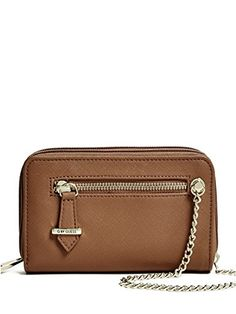 ceca83cad5 G by GUESS Womens Janie DoubleZip Tech Wristlet -- Want to know more, click  on the image.Note:It is affiliate link to Amazon.