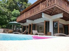 Best Thailand Holiday Villas - Modern 4 Bedroom Private Villa & Pool. Child friendly. 500m from the Beach