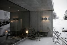 Modern Concrete House in Norway