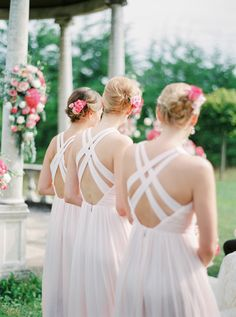 Photography: Peaches & Mint By Pia Clodi - www.peachesandmint.com  Read More: http://www.stylemepretty.com/destination-weddings/2015/03/30/elegant-wedding-in-france-at-chateau-la-durantie/